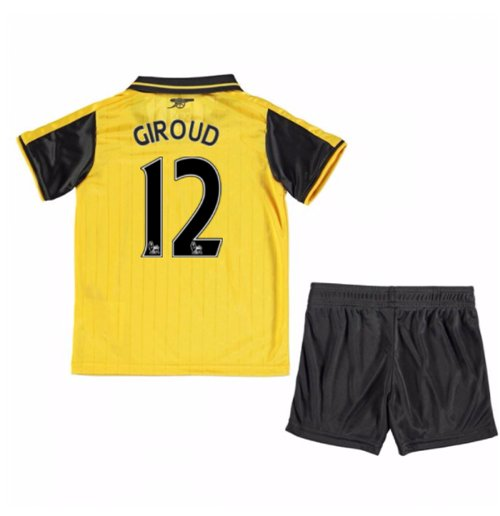 2016-17 Arsenal Away Mini Kit (Giroud 12)