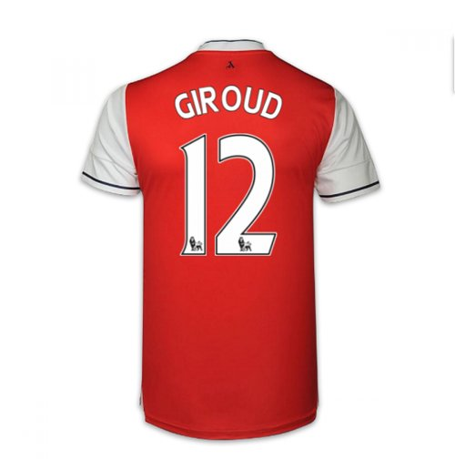 2016-17 Arsenal Home Shirt (Giroud 12) - Kids
