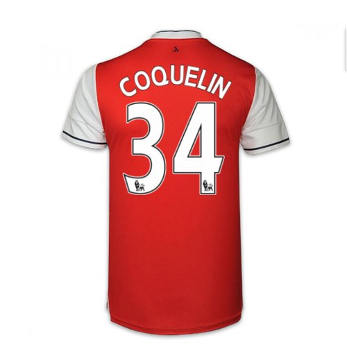 2016-17 Arsenal Home Shirt (Coquelin 34)