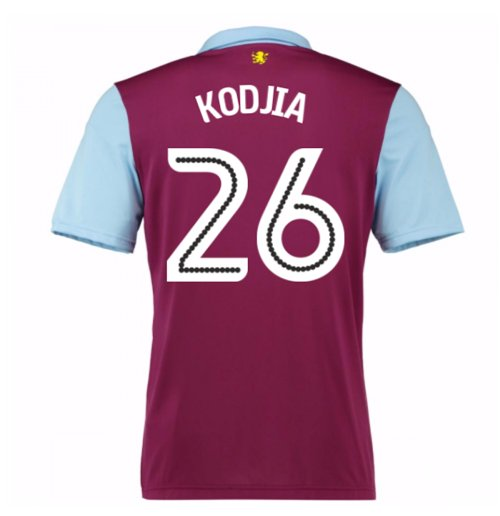 2016-17 Aston Villa Home Shirt (Kodjia 26)