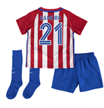 2016-17 Atletico Madrid Mini Kit (Gameiro 21)