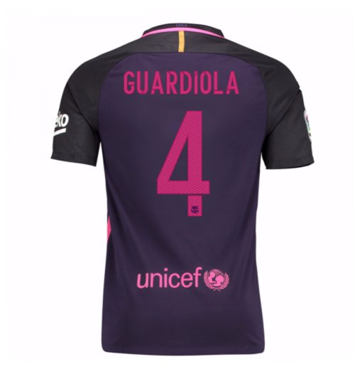 2016-17 Barcelona Away Shirt (Guardiola 4)
