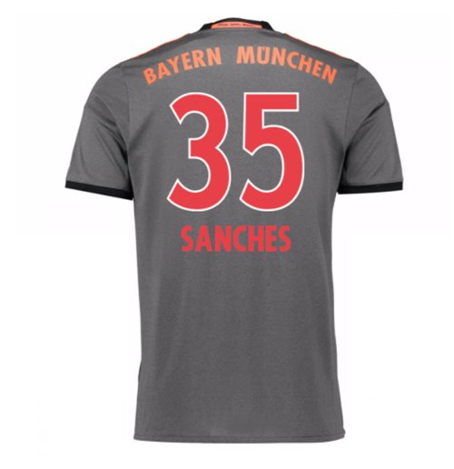 2016-17 Bayern Munich Away Shirt (Sanches 35)