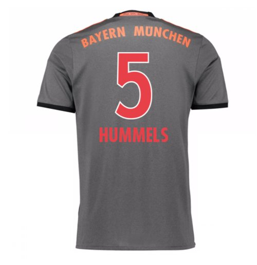 2016-17 Bayern Munich Away Shirt (Hummels 5)