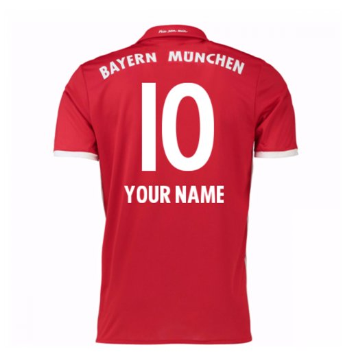2016-17 Bayern Home Shirt (Your Name) -Kids