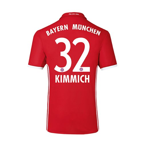 2016-17 Bayern Home Shirt (Kimmich 32) - Kids