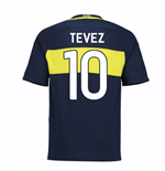 2016-17 Boca Juniors Home Shirt (Tevez 10)