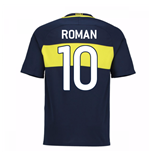 2016-17 Boca Juniors Home Shirt (Roman 10)