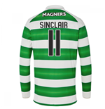 2016-17 Celtic Long Sleeve Home Shirt (Sinclair 11) - Kids