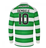 2016-17 Celtic Long Sleeve Home Shirt (Dembele 10) - Kids