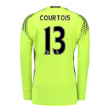 2016-17 Chelsea Home Goalkeeper Shirt (Courtois 13)