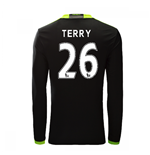 2016-17 Chelsea Away Long Sleeve Shirt  (Terry 26)