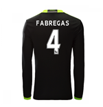 2016-17 Chelsea Away Long Sleeve Shirt  (Fabregas 4)