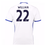 2016-17 Chelsea 3rd Shirt (Willian 22)