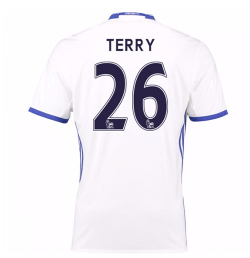 2016-17 Chelsea 3rd Shirt (Terry 26)