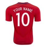 2016-17 Chile Home Shirt (Your Name) -Kids