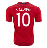 2016-17 Chile Home Shirt (Valdivia 10) - Kids