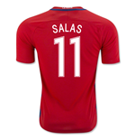 2016-17 Chile Home Shirt (Salas 11) - Kids
