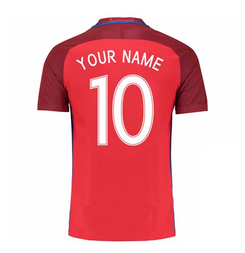 2016-17 England Away Shirt (Your Name) -Kids