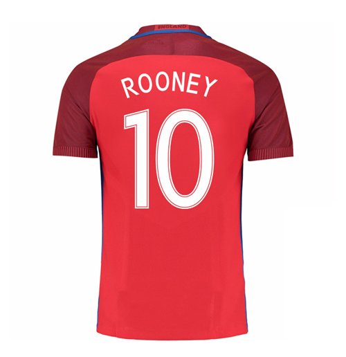 2016-17 England Away Shirt (Rooney 10) - Kids