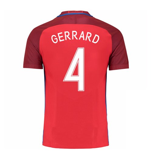 2016-17 England Away Shirt (Gerrard 4) - Kids