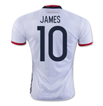 2016-17 Colombia Home Shirt (James 10)