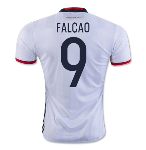 2016-17 Colombia Home Shirt (Falcao 9)