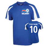2016-17 Iceland Sports Training Jersey (Your Name) -Kids