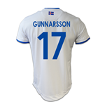 2016-17 Iceland Away Shirt (Gunnarsson 17)