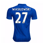 2016-17 Leicester City Home Shirt (Wasilewski 27)
