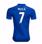 2016-17 Leicester City Home Shirt (Musa 7)