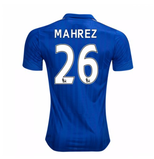 2016-17 Leicester City Home Shirt (Mahrez 26) - Kids