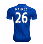 2016-17 Leicester City Home Shirt (Mahrez 26)
