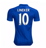 2016-17 Leicester City Home Shirt (Lineker 10)