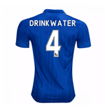 2016-17 Leicester City Home Shirt (Drinkwater 4)