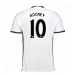 2016-17 Man Utd Third Shirt (Rooney 10)