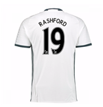 2016-17 Man Utd Third Shirt (Rashford 19)