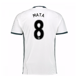 2016-17 Man Utd Third Shirt (Mata 8)