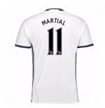 2016-17 Man Utd Third Shirt (Martial 11)