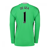2016-17 Man Utd Away Goalkeepers Shirt (De Gea 1) - Kids