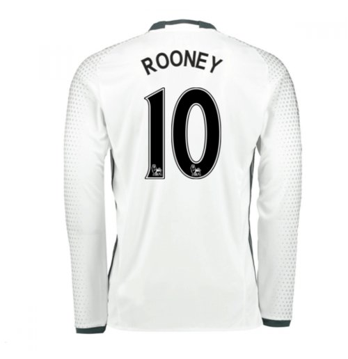 2016-17 Man United Third Shirt (Rooney 10)