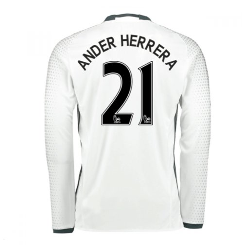 2016-17 Man United Third Shirt (Ander Herrera 21) - Kids