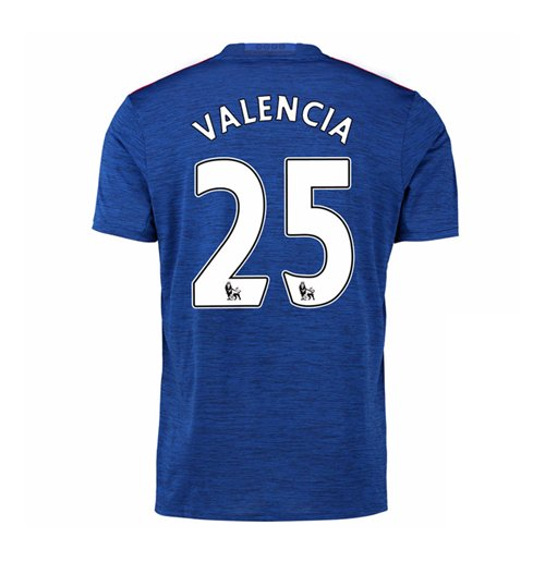 2016-17 Manchester United Away Shirt (Valencia 25)