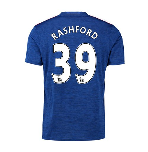 2016-17 Manchester United Away Shirt (Rashford 39) - Kids