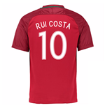 2016-17 Portugal Home Shirt (Rui Costa 10)