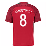 2016-17 Portugal Home Shirt (J.Moutinho 8)