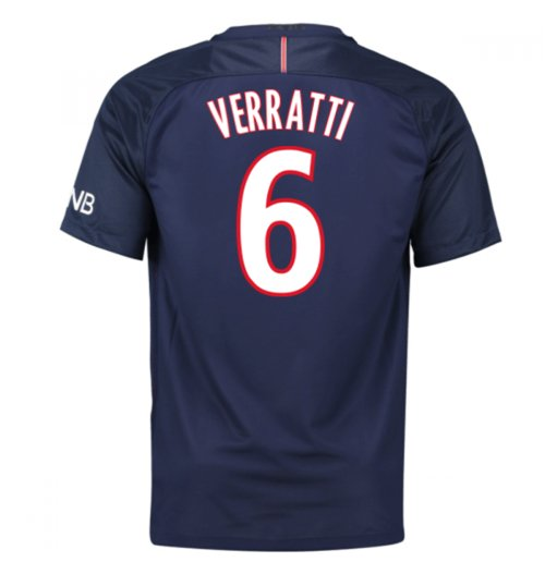 2016-17 PSG Home Shirt (Verratti 6) - Kids