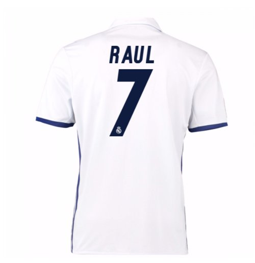 2016-17 Real Madrid Home Shirt (Raul 7)