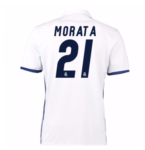2016-17 Real Madrid Home Shirt (Morata 21) - Kids