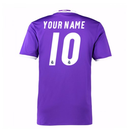 2016-17 Real Madrid Away Shirt (Your Name) -Kids